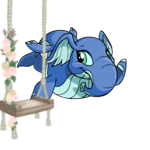 Premium Collectible: Blooming Flowers Swing