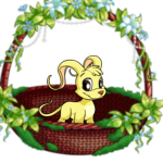 Premium Collectible: Swinging Woven Forest Basket