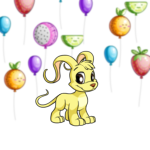 Premium Collectible: Floating Fruit Balloons