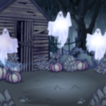 Premium Collectible: Abandoned Cabin Background