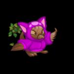Dyeworks Purple: Blue Kadoatie Hoodie