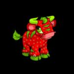 strawberry kau