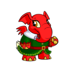 Holiday Helper Coat with Tails