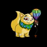 Miniature Floating Hot Air Balloon