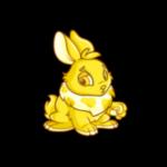 gold cybunny