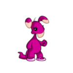 Pink Blumaroo Slippers