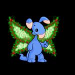 Festive Holly Princess Wings