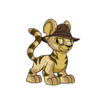 Kougra Adventurer Hat