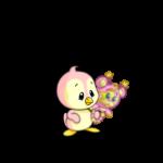 Baby Pink Ona Rattle