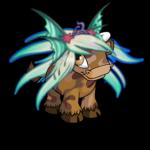 Iridescent Sea Monster Wig
