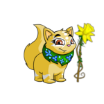 Cheerful Daffodil Staff