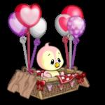 Valentine Baby Basket