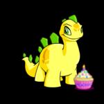 Birthday Cupcake Handheld Plushie
