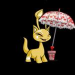 Raining Hearts Umbrella