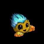 Blue Warlock Wig