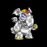 checkered elephante