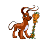 Autumn Jack O Lantern Staff