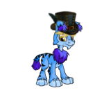 Neovian Top Hat and Wig