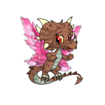 Pink Armour Wings