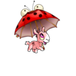 Baby Lady Blurg Umbrella
