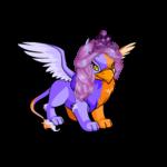 Dyeworks Purple: Broken Heart Tiara and Wig