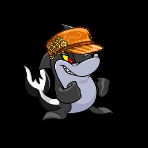 Vivacious Orange Gear Cap