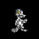 checkered krawk