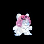 Pastel Pink Veil Wig