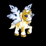 Sparkling Snowflake Wings