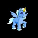 blue uni
