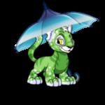Stormy Ombre Umbrella