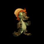 Basic Beanie and Tangerine Wig