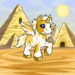 Lost Desert Pyramids Background