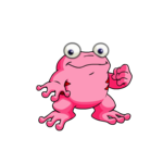 pink quiggle