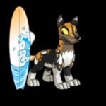 Wave Splash Surfboard