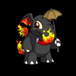 Elephante Peanut Umbrella