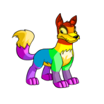 rainbow lupe