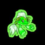 glowing koi