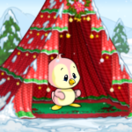 Christmas Eve Tent Background
