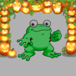 Premium Collectible: Illuminated Jack-o-Lantern Garland