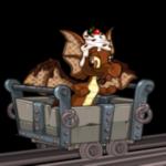 Wooden Mining Cart