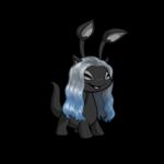 Silvery Blue Wig