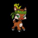 Ixi Bandit Feathered Headband