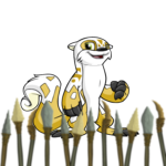 Tyrannian Spear Foreground
