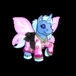 Cherry Blossom Silk Dress