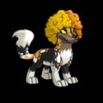 Altador Team Crazy Wig