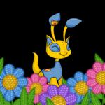 Basketweave Flower Foreground