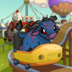Potato Themed Ride Background