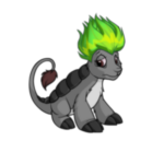 Green Warlock Wig