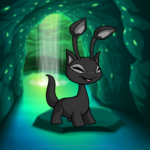 Cave & Waterfall Background